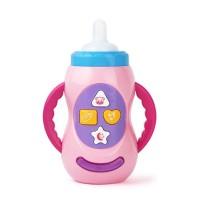 Botol Susu dengan Suara Musik dan Lampu untuk Edukasi