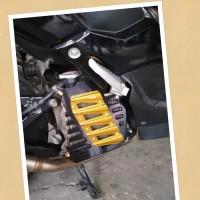 Terbaru COVER RADIATOR NMAX FULL CNC SCARLET Original