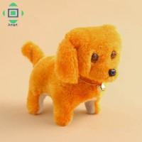 color random Boneka Anjing Elektrik Lucu Bisa Bergerak Cute Walking Ba