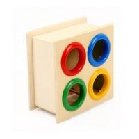 Hammering Wooden Ball Hammer Box Children Early Learning Educational T