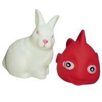 Skic 13Pcs Set Mainan Mandi Binatang Mengapung dengan Suara Mencicit W