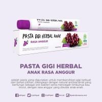 HNI HPAI Pasta Gigi Herbal PGH Anak Rasa Anggur 50 gr ORIGINAL
