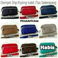 KP21 Dompet Wanita/Dompet Panjang Hp Android kipling 4slet 2Tali