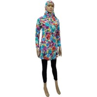 Baju Renang Wanita Muslim M Motif 1