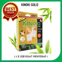 Kiyome Kinoki Cleansing Detox Foot Pads Gold