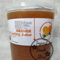 Popping Boba / Orange Coating Juice