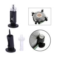 Kaki Heatsink Cpu Cooler Fan intel lga 775 1155 1150 115x push pin