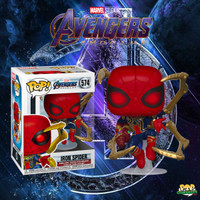 Funko POP! Marvel- Avengers 4 Endgame - Iron Spider with Nano Gauntlet