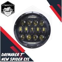 Daymaker Spider Eye 7 Inchi Lampu LED 75w New Model 2019 Kawasaki W175