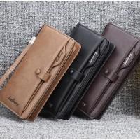 Wallet Dompet Panjang / Dompet Kulit Kartu Unisex Baellerry BL081