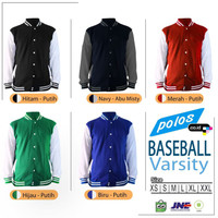 Jacket Baseball Varsity / Jaket Baseball / Jaket Varsity - XXL