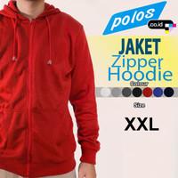 Jacket Zipper Hoodie/Jaket Kupluk/Jaket Resleting Kupluk - XXL