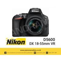 Nikon D5600 kit AF-P DX 18-55mm f3.5-5.6G VR