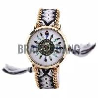 jam tangan rajut wool boho bohemian