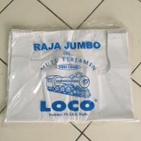 Kantong Kresek Loco Raja Super Jumbo 50x75 Putih Tebal