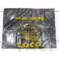 Kantong Kresek Loco Raja Super Jumbo 50x75cm Hitam Tebal