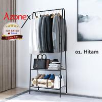 Rak Gantung Serbaguna / Rak Baju Gantung Portable / Stand Hanger Jemur