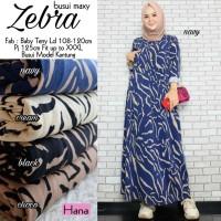 Baju Muslim Wanita Gamis Maxi Zebra Busui