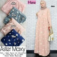 Gamis Maxi Baju Muslim Wanita Aster Busui
