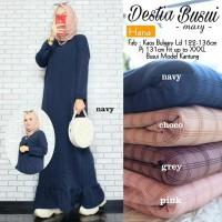 Baju Muslim Wanita Gamis Busui Maxi Destia Original