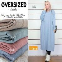 Atasan Muslim Wanita Tunik Oversized Original