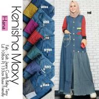 Baju Muslim Wanita Gamis Maxi Kenisha Original