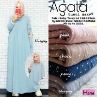 Baju Muslim Wanita Gamis Maxi Agata Busui
