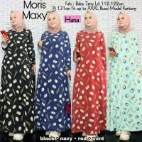 Gamis Maxi Baju Muslim Wanita Moris Busui Original