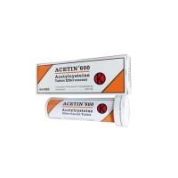 Acetin 600 mg Tablet Effervescent