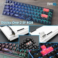 Ducky One 2 Small Factor SF 65% RGB Mechanical Gaming Keyboard