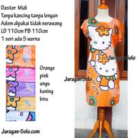 Daster Midi Murah solo Motif Hello Kitty grosir murah