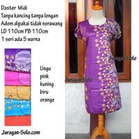Daster Midi Murah solo Motif Batik grosir ecer