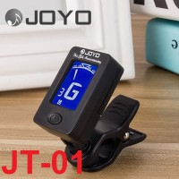 Tuner Gitar Joyo JT01 JT-01 Chromatic Clip Layar Guitar Bass Original