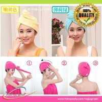 HAIR TOWEL Super Absorbent Handuk Rambut Daya Serap Tinggi 0613