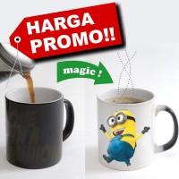 Menjual Mug Bunglon atau Mug Magic atau Mug yang bisa berubah gambar