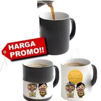 Jual mug berubah warna | cetak mug bunglon(magic mug/ ajaib)