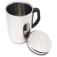 GELAS STAINLESS / MUG VACUUM CUP 500ML gelas kopi Thermos Souvenir New