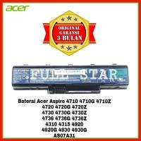 Baterai Laptop Acer Aspire 4740 4740G 4920 4920G 4310 4315 AS07A31