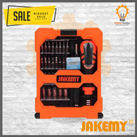 Jakemy Obeng Tools 33 in 1 Obeng Set JM8160 JM-8160 untuk HP Komputer