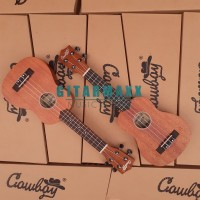 "Ukulele Cowboy Soprano 21"" Original Bonus Melimpah"