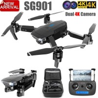 SG901 ZLL 4K UHD Dual Camera Wide Angel Foldable Follow Me Drone + TAS
