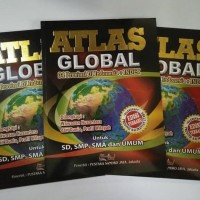 buku atlas indonesia dan dunia / buku peta indonesia dan dunia