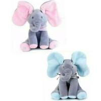 Gajah Cilukba Mainan Boneka Gajah / Mainan Anak