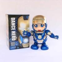Super Hero Avenger Ironman Armor Rescue Pepper Potts Dance Robot