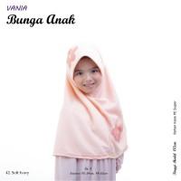 Jilbab Anak Vania Motif Bunga