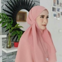 jilbab instan Bergo kerudung tali aisyah