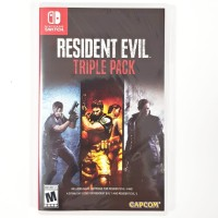 Switch Resident Evil Triple Pack 4 & 5 & 6 US Version