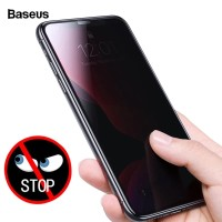 BASEUS 0.3MM PRIVACY TEMPERED GLASS FOR IPHONE 11/11 PRO/11 PRO MAX