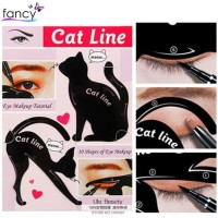 ID Cat Line Eyeliner Tutorial Cetak Eyeliner 2in1