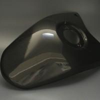 Cover Tangki Carbon CM DUCATI HYPERMOTARD 1100 Original Import
